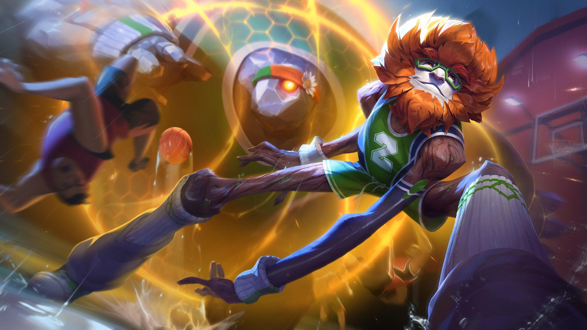 Ivern gets a Wilt Chamberlain inspired skin in 9.7 (courtesy Riot Games)