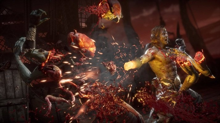 Liu Kang's one-inch punch is so beautiful it will bring you to pieces.