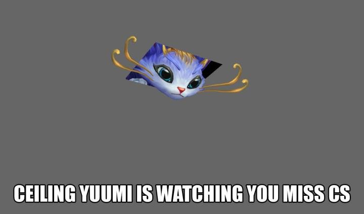 OmegaLoL: Yuumi and League of Legends' Pet Adoption Policy