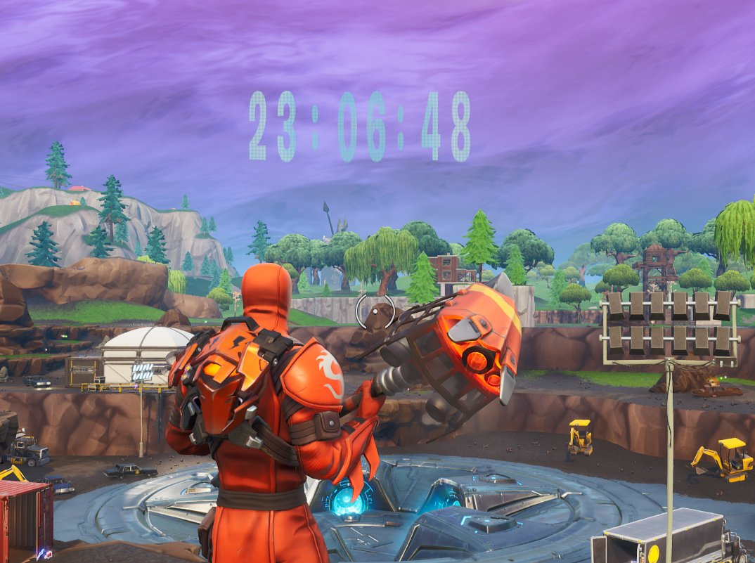 Fortnite Loot Lake Unvaulting Event Start Time Countdown