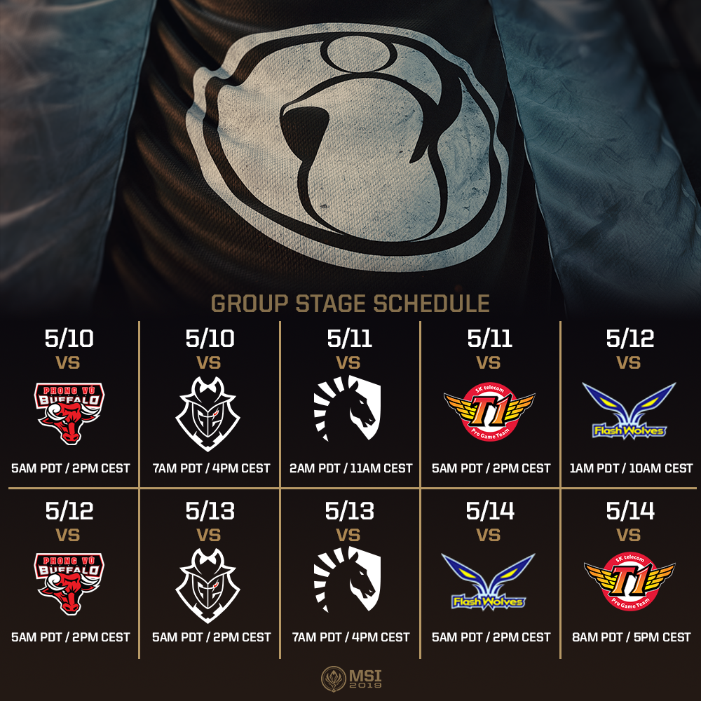 How to Watch the League of Legends MSI 2019 Group Stage