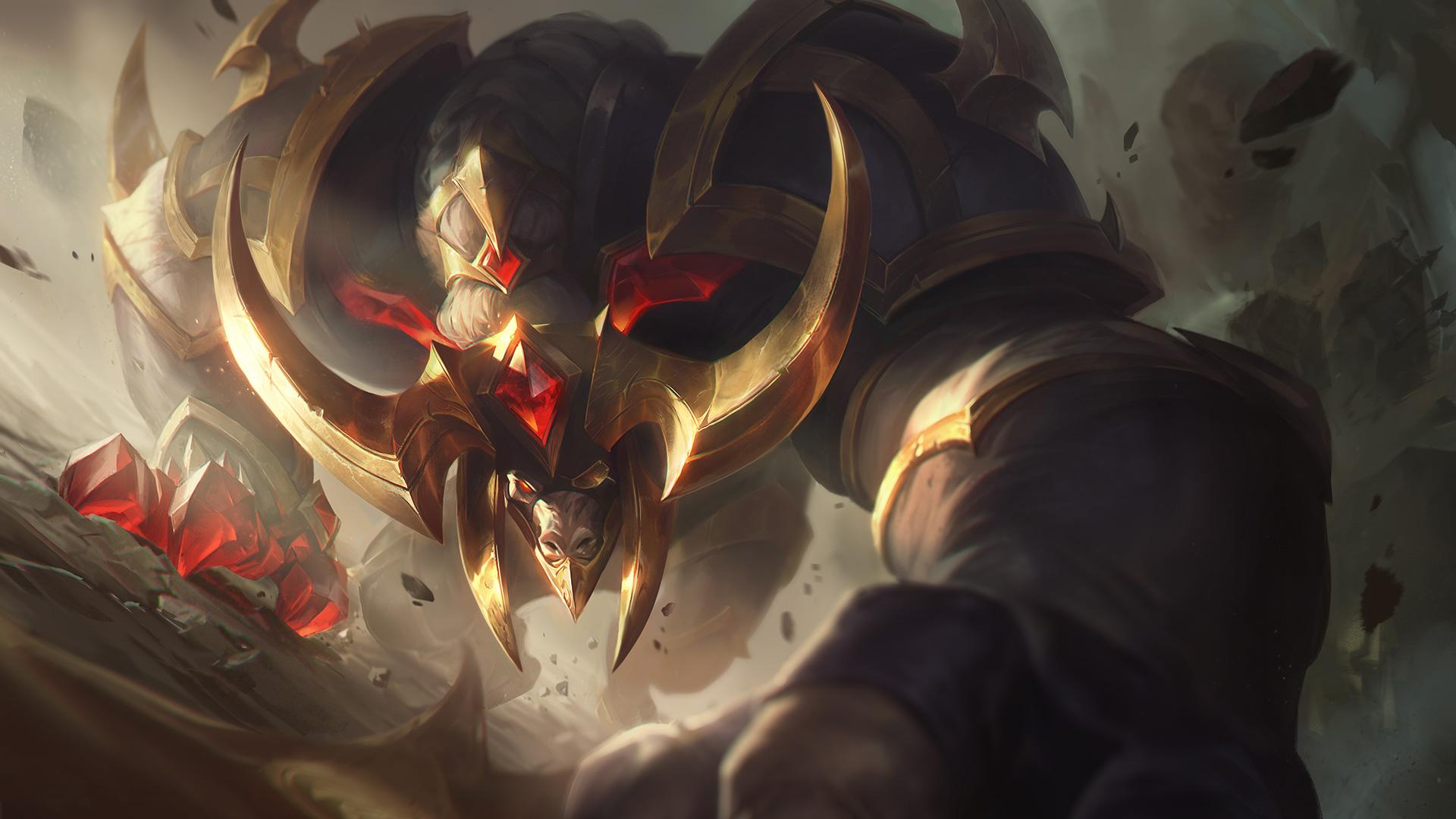 Conqueror Alistar skin is now live in the LoL store.