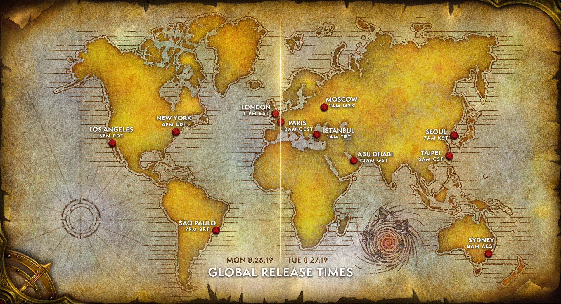 World of Warcraft WoW Classic Release Date Time