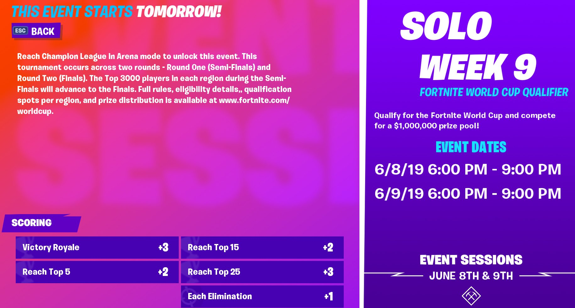 How To Watch The Fortnite World Cup Week 1 Qualifiers