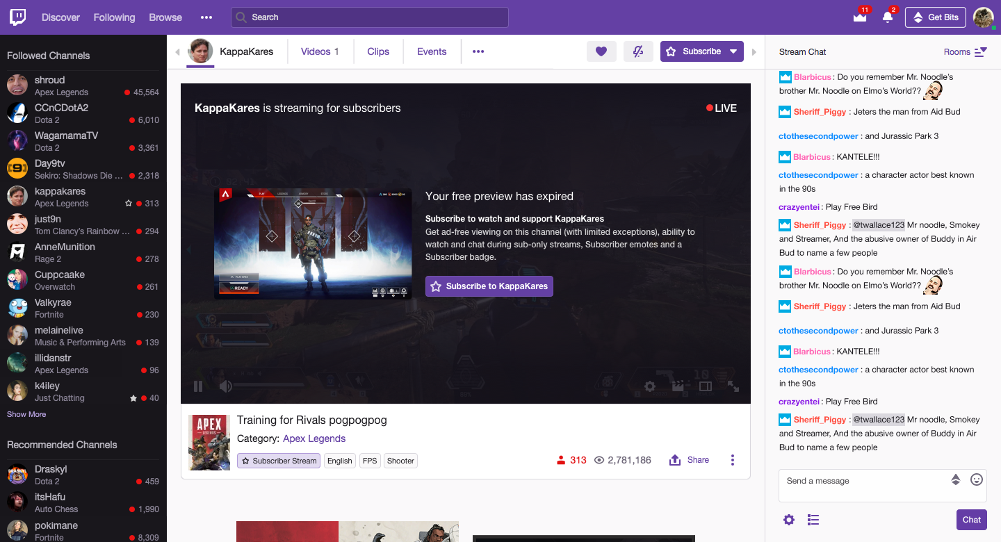 New Twitch mode lets streamers run 'subscriber only' broadcasts