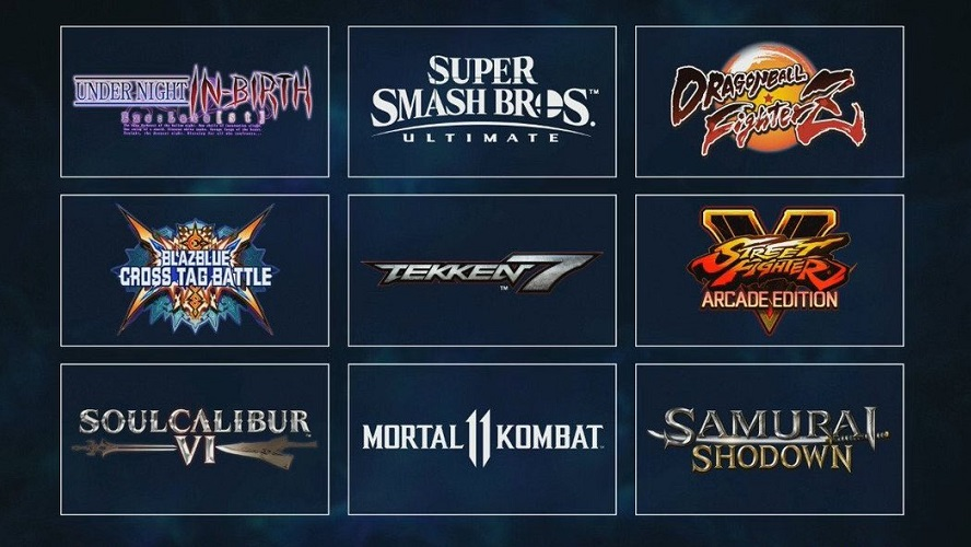 Evo 2019 Games Lineup