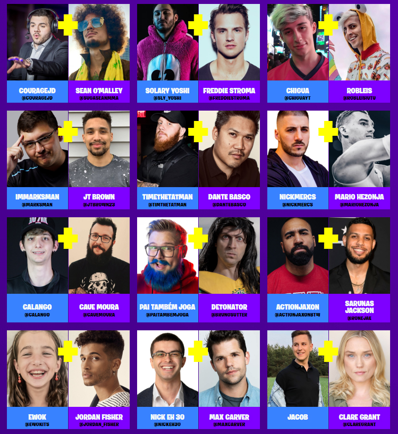 Fortnite World Cup Finals Celebrity Pro-Am Live Stream