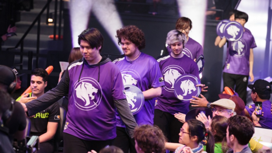 The Kroenke Sports & Entertainment group includes a number of notable ventures, including the formation of the Los Angeles Gladiators in Overwatch League. An LCS slot would have been a strong addition to their portfolio, but it appears it was not meant to be. [Image via Robert Paul/Blizzard Entertainment]