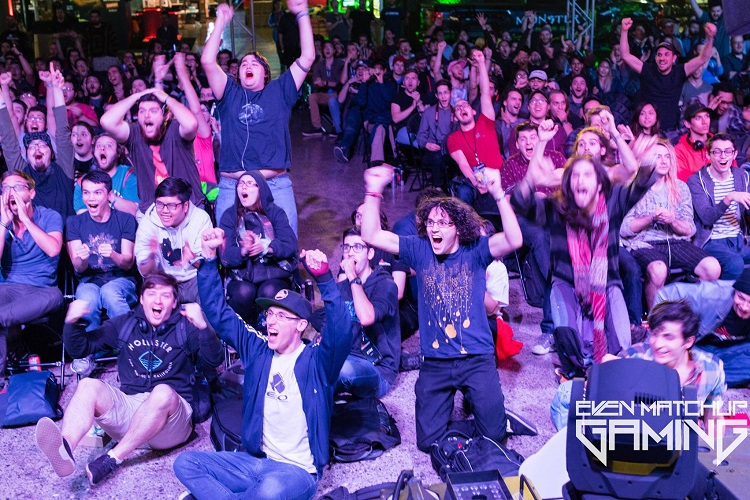 New Wave supports a number of esports endeavors, including Even Matchup Gaming, which helps organize various events such as the FGC end of Dreamhack Montreal. [Image by Even Matchup Gaming]