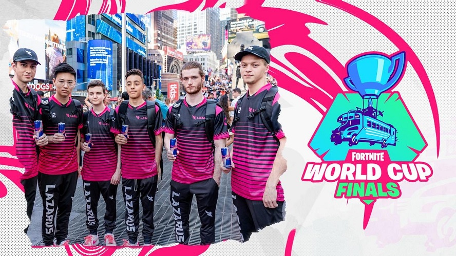 Lazarus has a grand number of teams competing across multiple esports scenes. It was their Fortnite squad that made waves at the World Cup back in July. [Image by Lazarus Esports]