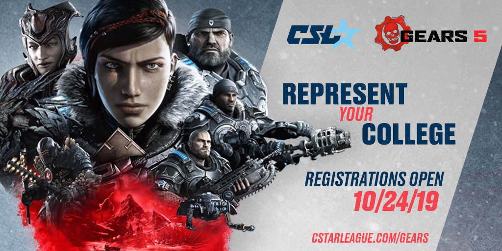 With the sign-ups open for Gears 5, CSL has a fresh new arena for collegiate players to challenge.