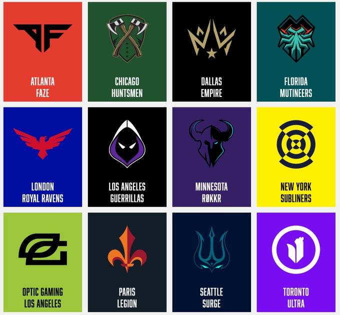 Every Call Of Duty League Team Roster