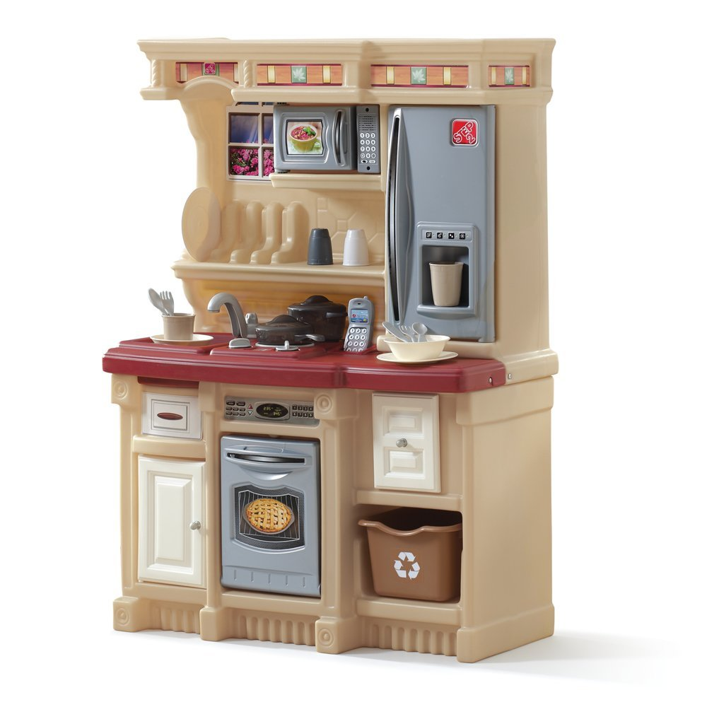Plastic Play Kitchen Step 2 twined play sets reviews: lifestyle custom kitchenstep2