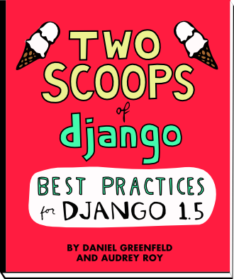 Two Scoops of Django book cover