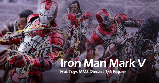 Hot Toys Iron Man Mark V Diecast