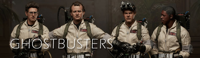 Ghostbusters 1/6 scale collectibles