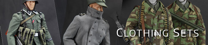 One-Sixth Scale Clothing Sets and Uniforms