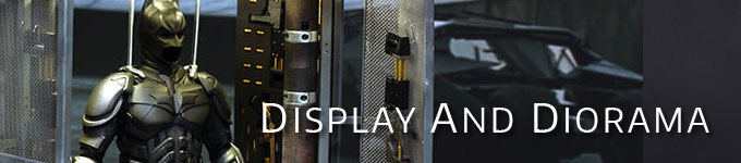 One-Sixth Scale Display Supplies and Environments