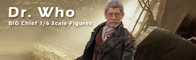 BIG Chief Dr. Who 1/6 Figures