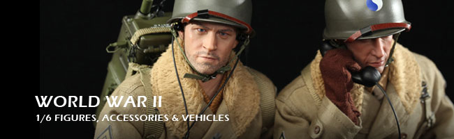 World War II Figures Accessories and Collectibles