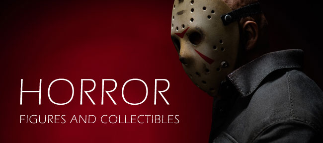 Horror-themed 1/6 scale collectibles