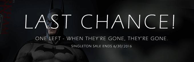 Singleton Sale