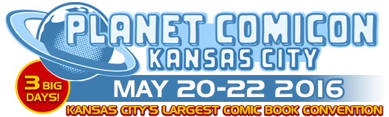 Planet Comicon KC Logo
