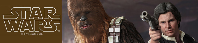 Han Solo and Chewbacca | Hot Toys
