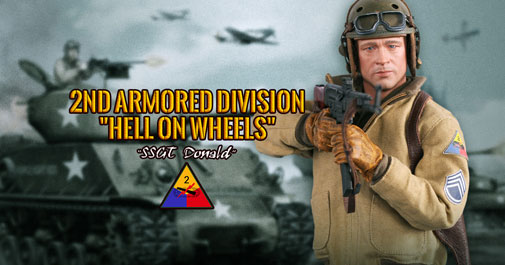 Donald 2nd Armored US WWII
