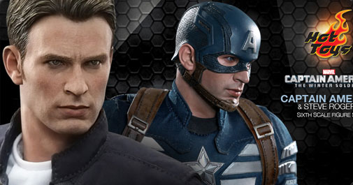 Captain America and Steve Rogers