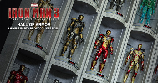 Iron Man Hall of Armor