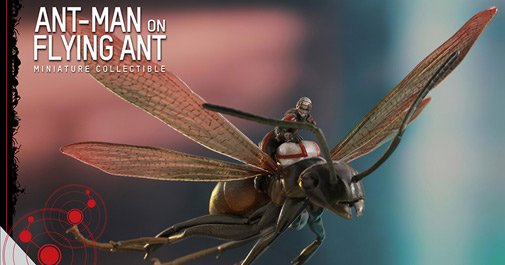 Antman with Flying Ant