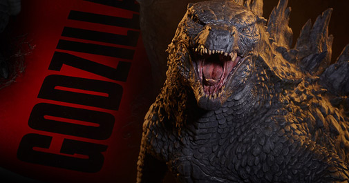 Godzilla Statue