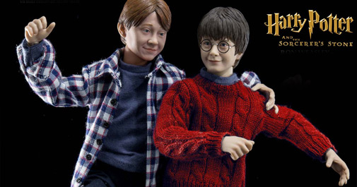 Harry Potter and Ron Weasley