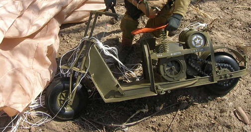 WWII 101st Airborne Scooter