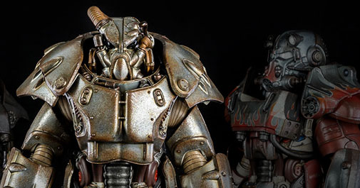 X-01 Power Armor Fallout