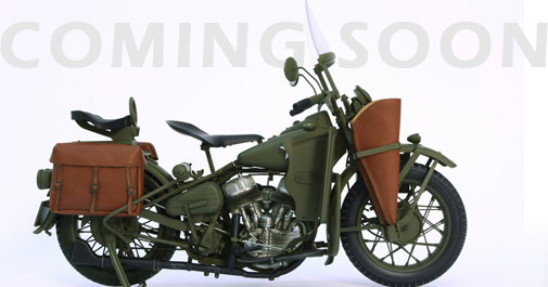 WWII US Motorcycle