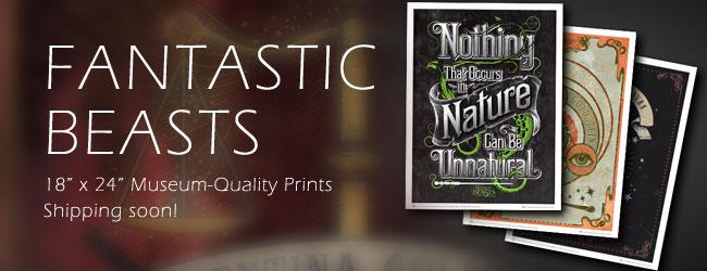 Fantastic Beasts Prints