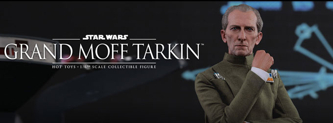 Grand Moff Tarkin Hot Toys 1/6 Scale