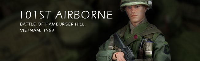 Ace Toys Battle of Hamburger Hill US 101st Airborne Vietnam