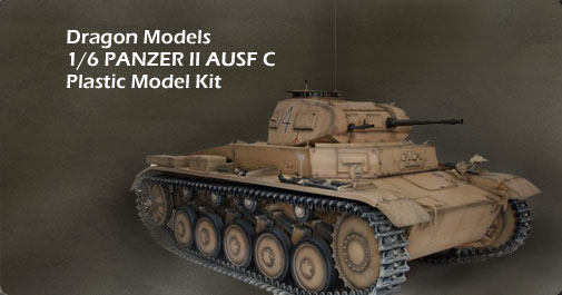 Panzer II Ausf C Tank Model Kit