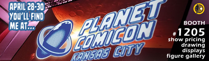 Timewalker Toys at Planet Comicon in Kansas City April 28-30