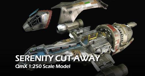 Qmx Serenity Cutaway Model