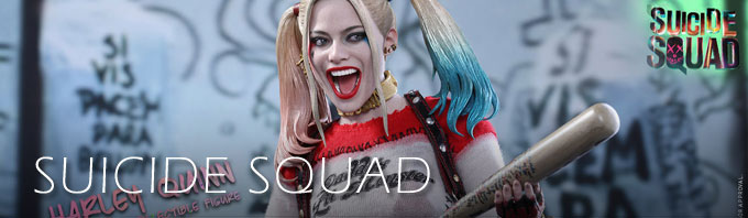 Suicide Squad Collectibles