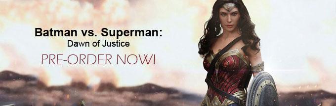 Batman vs. Superman: Dawn of Justice Collectible Figures
