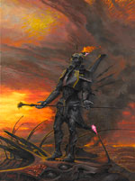 Signed art print included with pre-order only from Timewalker Toys: Barlowe's Hell: Baron Faraii.