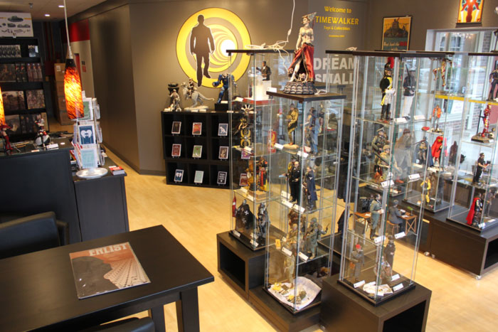 Timewalker Toys Overland Park Showroom