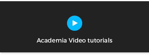 Academia video tutorial