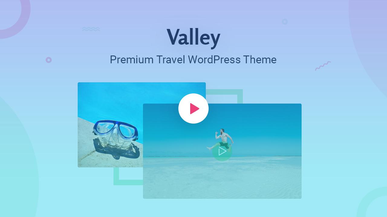 Valley - Tour & Travel WordPress Theme - 1