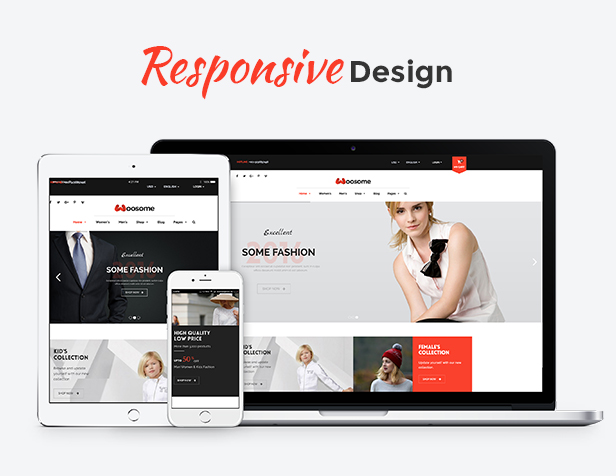 Woosome - Responsive Design